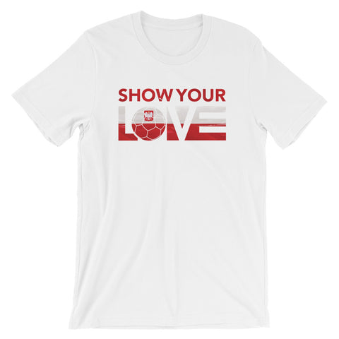 Show Your Love Poland Unisex Tee