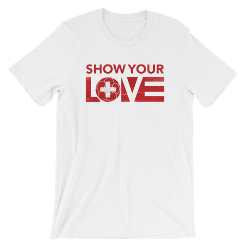 Show Your Love Switzerland Unisex Tee