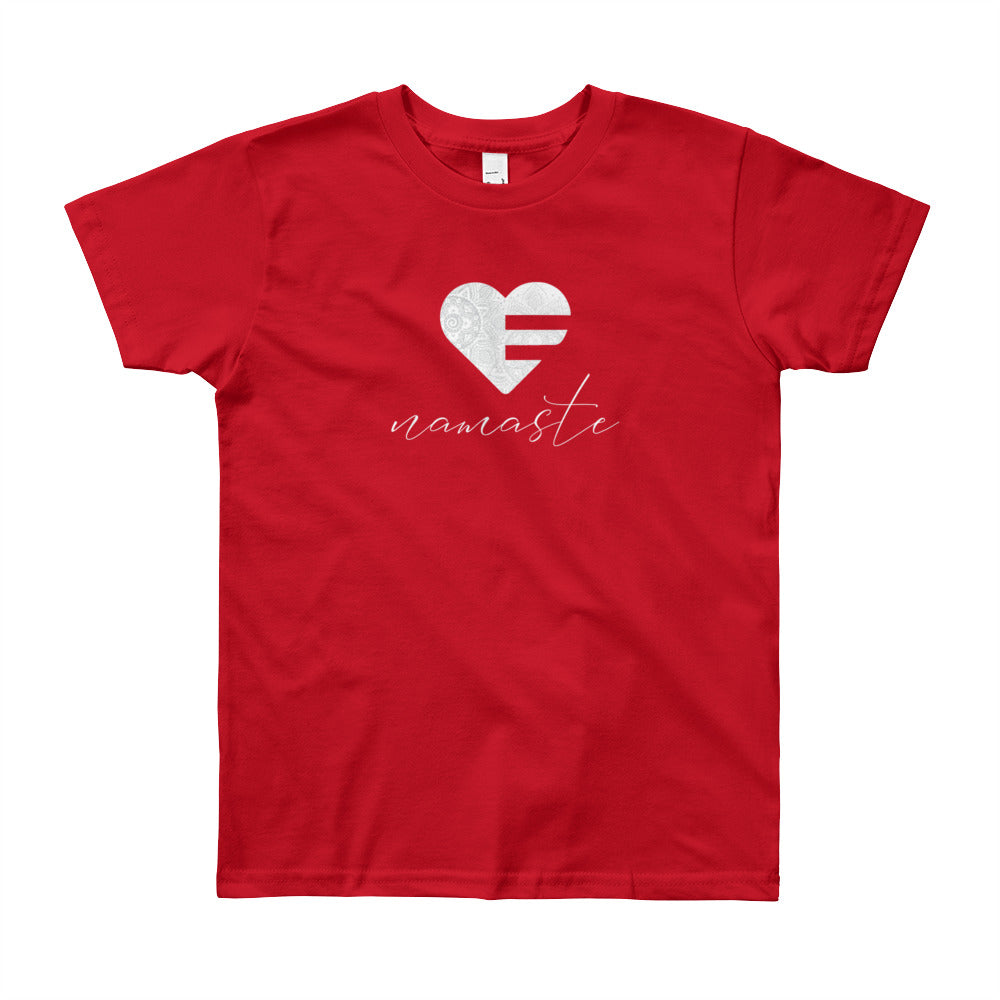 Red Heart Namaste Youth Tee