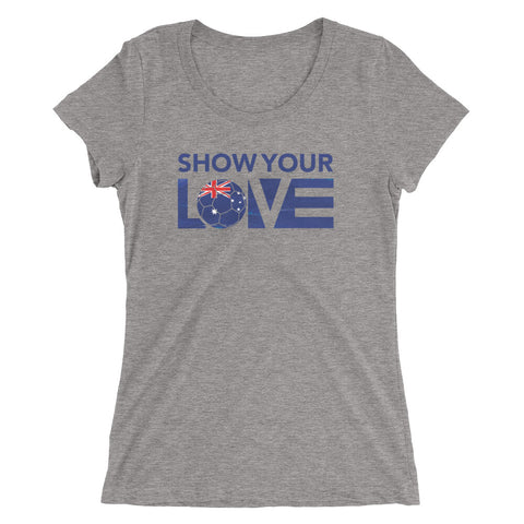 Show Your Love Australia Slim Fit Tee