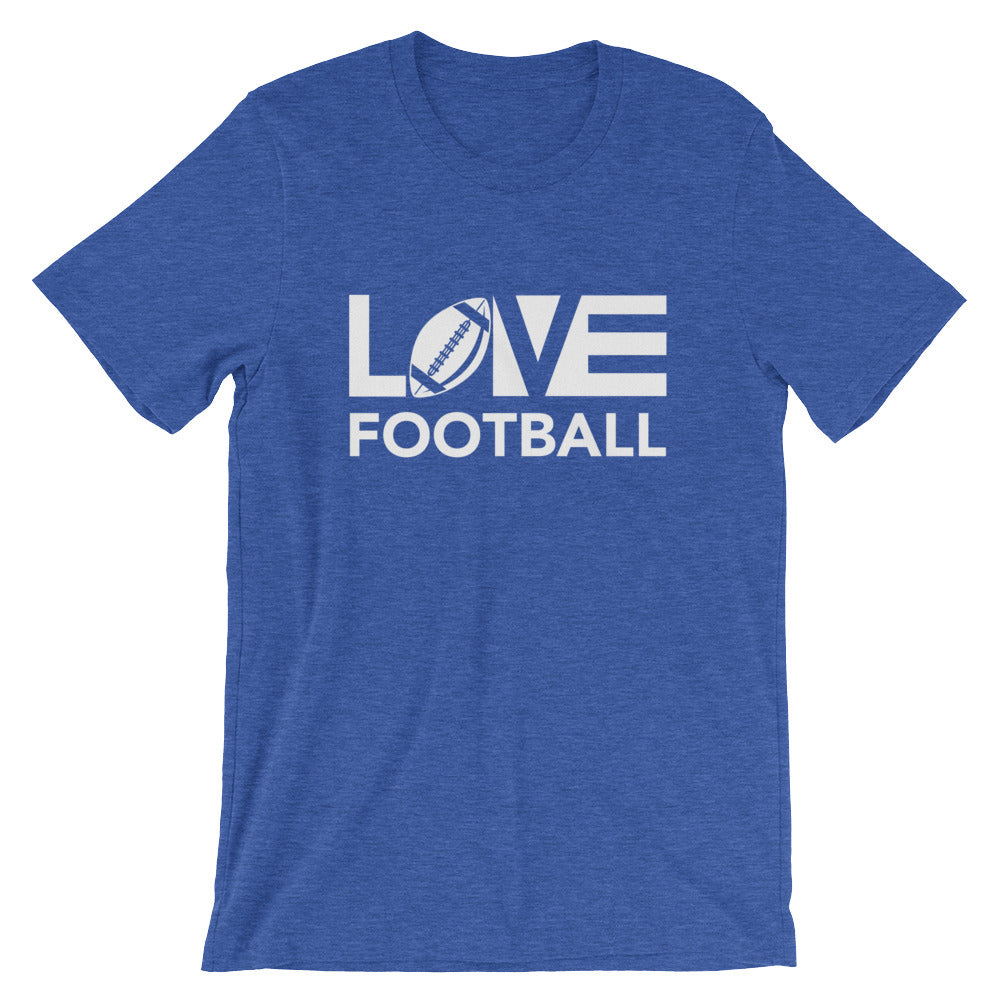 True royal LOV=Football Unisex Tee