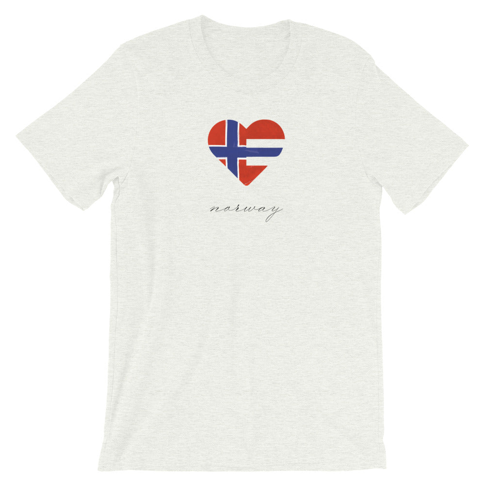 Ash Norway Heart Unisex Tee