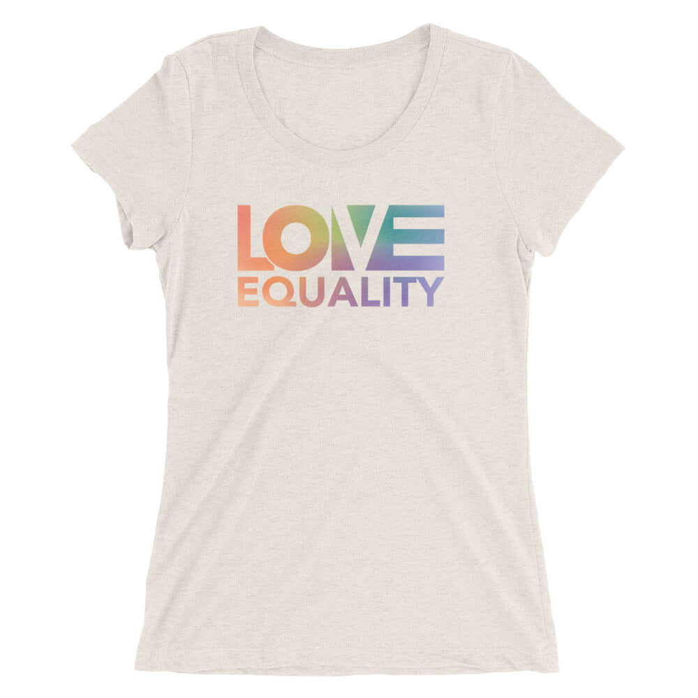 LOV=Equality Women's Slim Fit