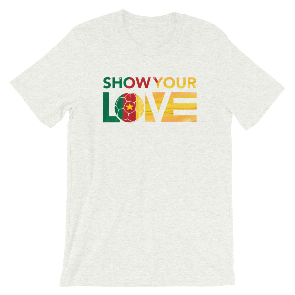 Ash Show Your Love Cameroon Unisex Tee