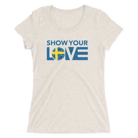 Show Your Love Sweden Slim Fit Tee