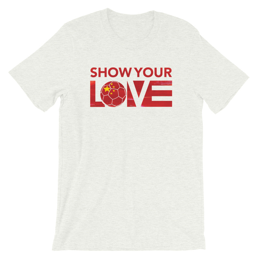 Ash Show Your Love China Unisex Tee
