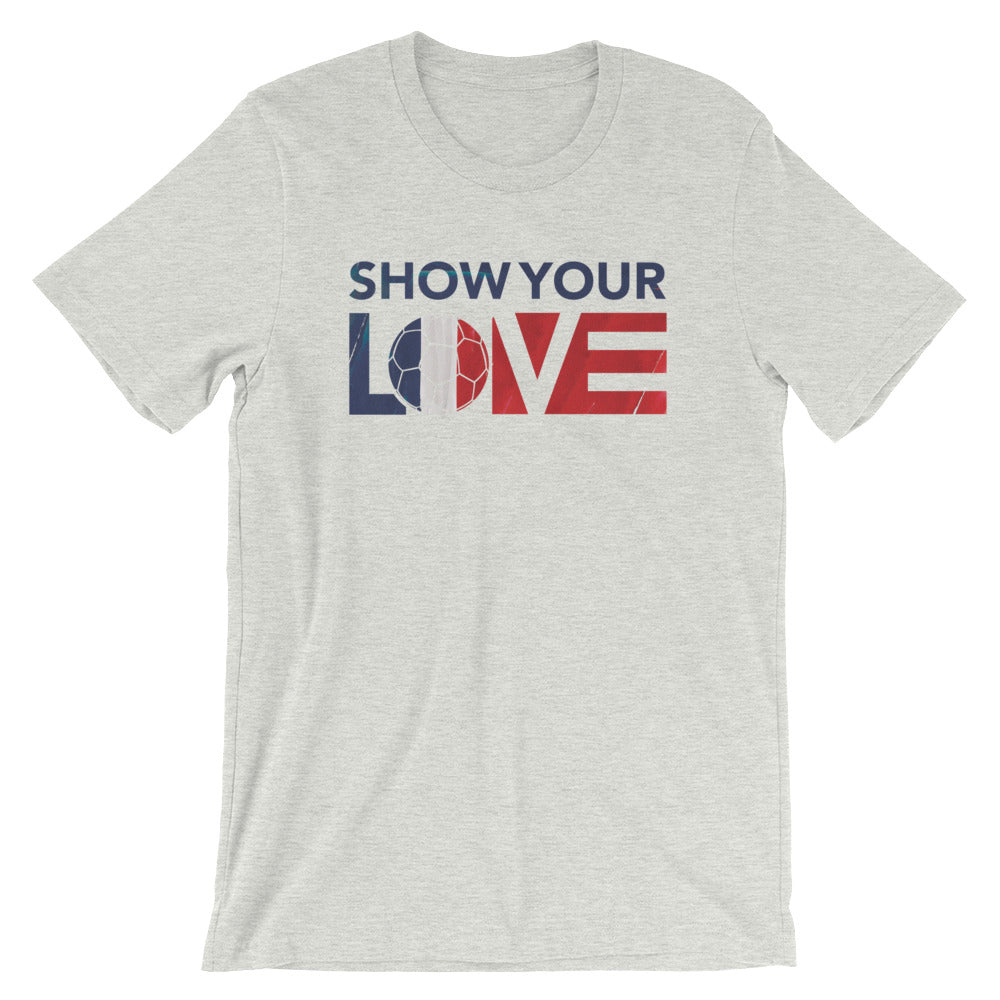 Ash Show Your Love France Unisex Tee