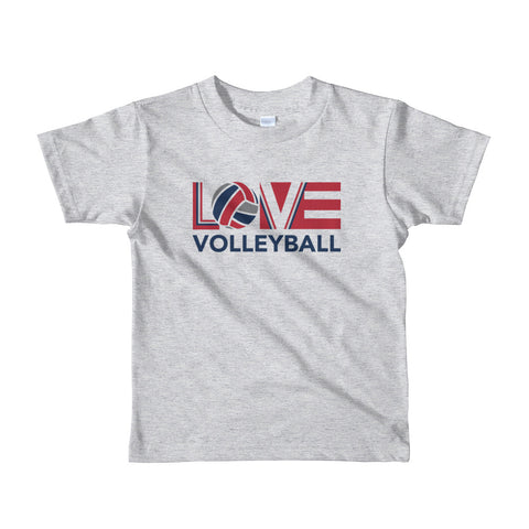 LOV=Volleyball Kids Tee (2yrs-6yrs)