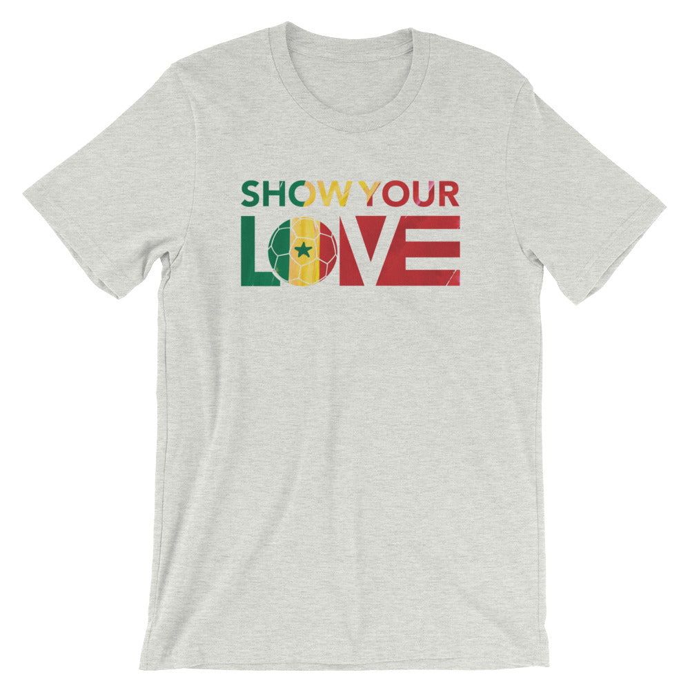 Ash Show Your Love Senegal Unisex Tee