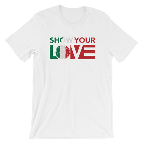 Show Your Love Italy Unisex Tee