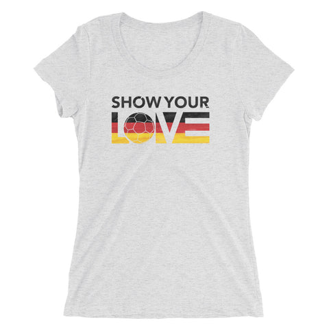 Show Your Love Germany Slim Fit Tee