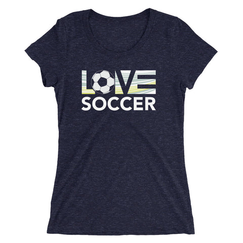 LOV=Soccer Ultra Slim Fit Triblend Tee