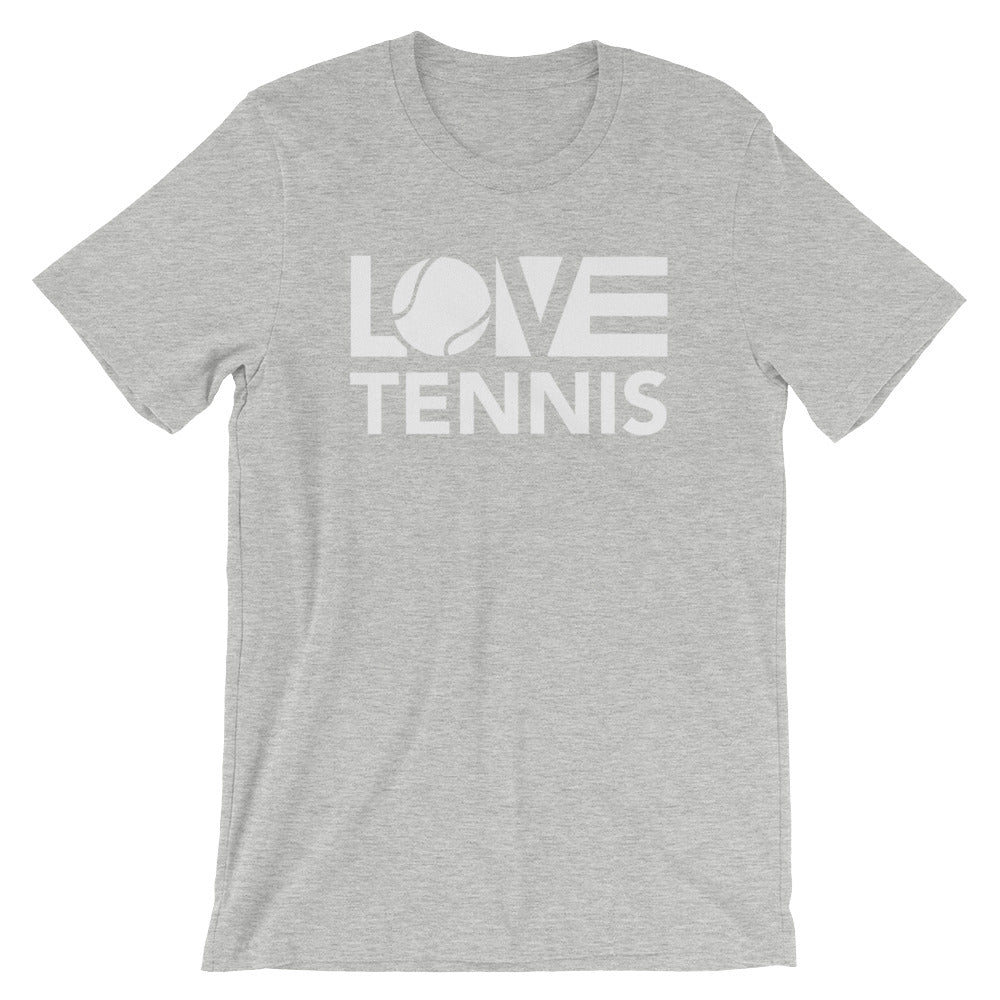 Athletic LOV=Tennis Unisex Tee