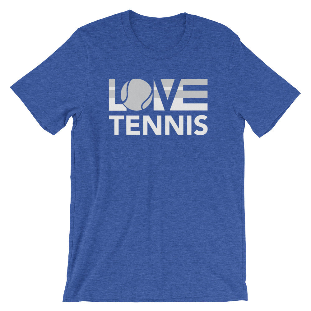 True royal LOV=Tennis Unisex Tee