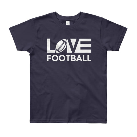 LOV=Football Youth Tee (8yrs-12yrs)