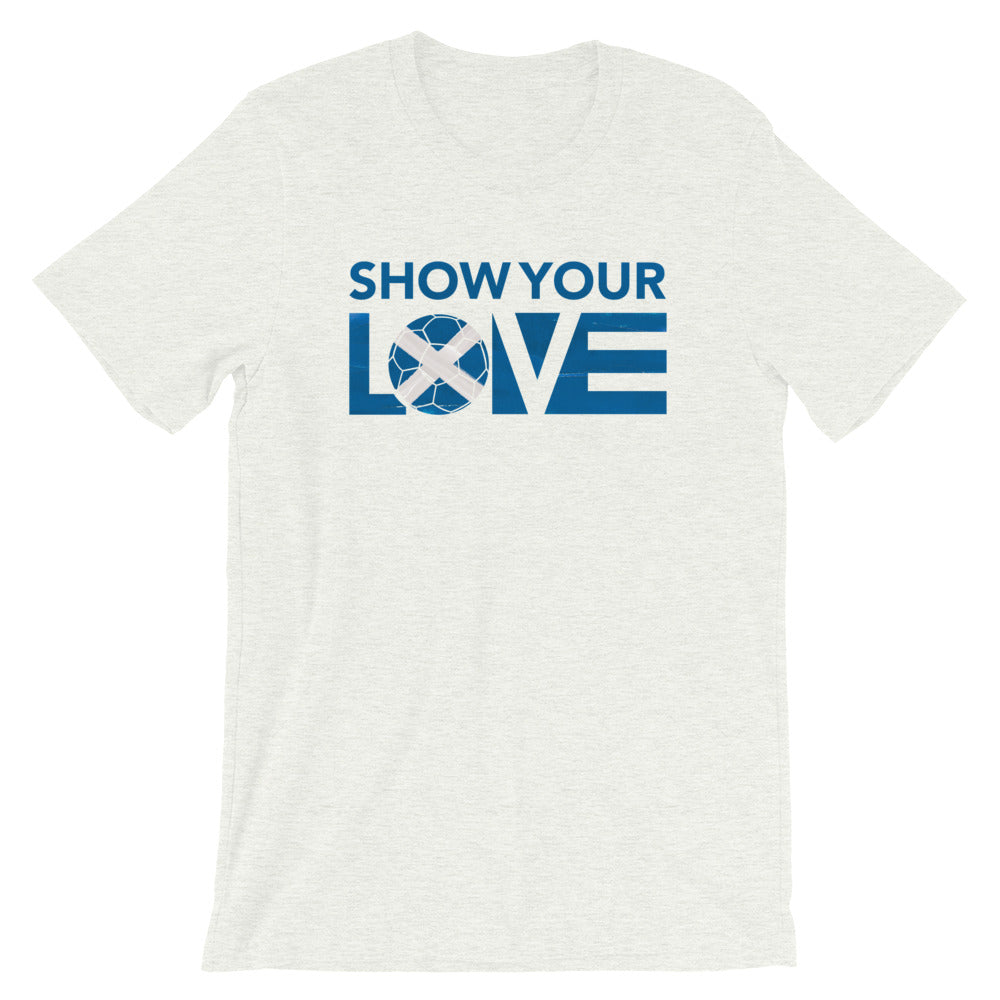 Ash Show Your Love Scotland Unisex Tee