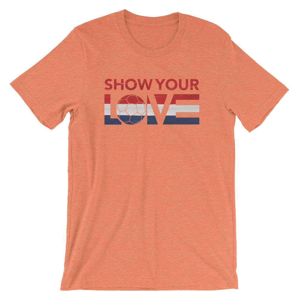 Show Your Love Netherlands Unisex Tee