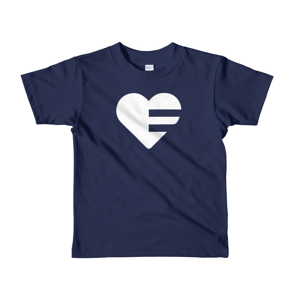 Navy blue Solo Heart Kids Tee