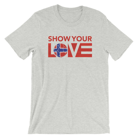 Show Your Love Norway Unisex Tee
