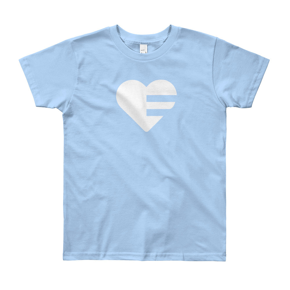 Baby blue Solo Heart Youth Tee