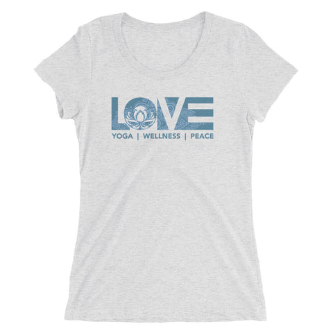 LOV=Yoga Ultra Slim Fit Triblend Tee