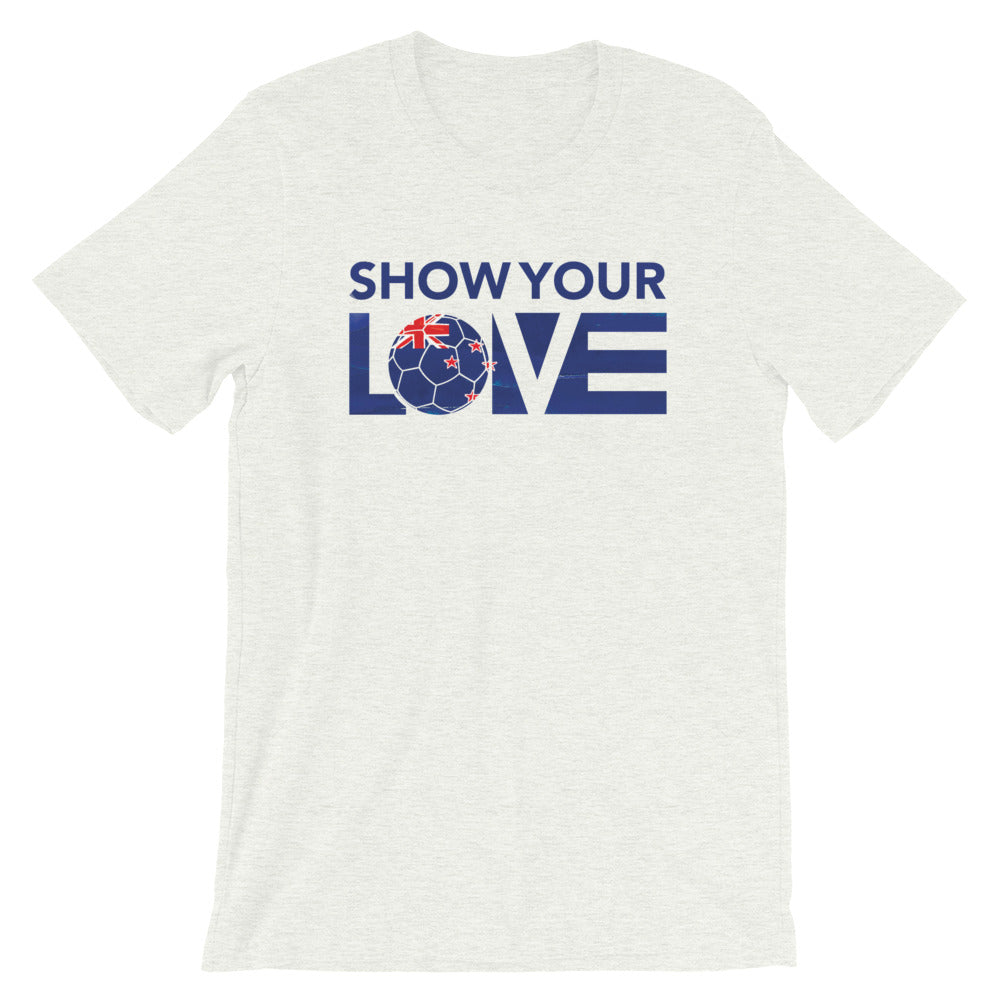 Ash Show Your Love New Zealand Unisex Tee