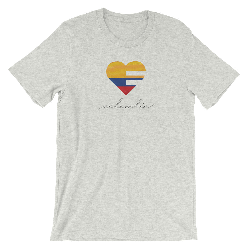Ash Colombia Heart Unisex Tee