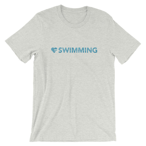 Heart=Swimming Unisex Tee