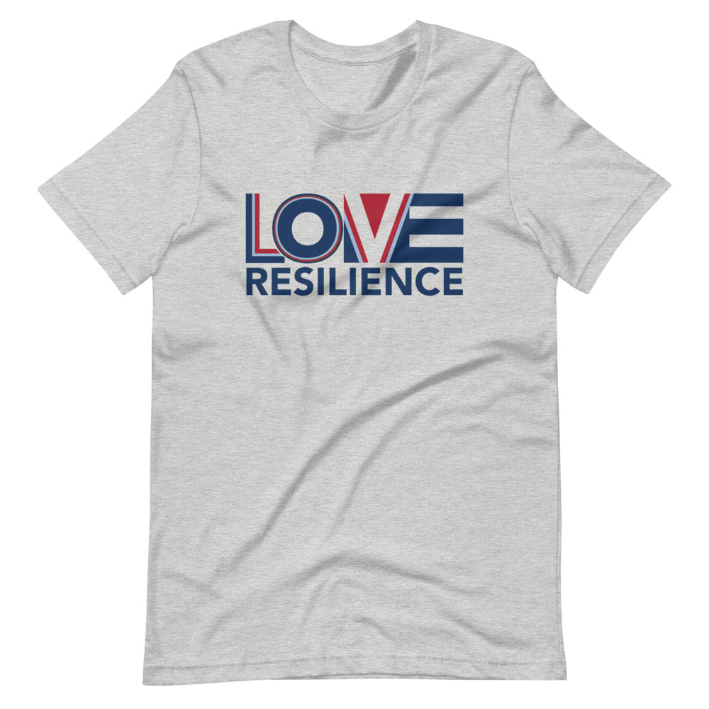 Love Equals Resilience Unisex T-Shirt