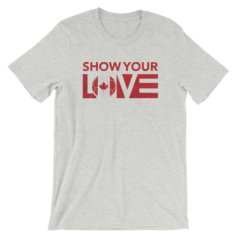 Show Your Love Canada Unisex Tee