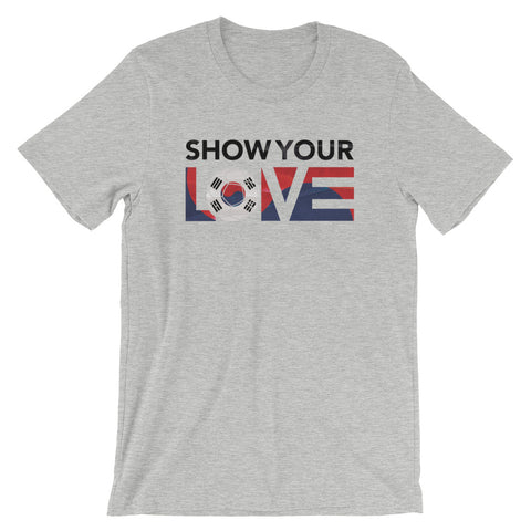 Show Your Love Korea Unisex Tee