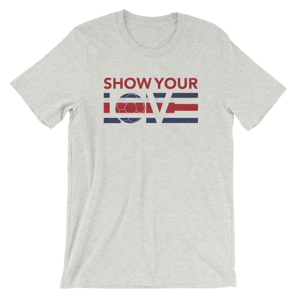 Ash Show Your Love Colombia Unisex Tee