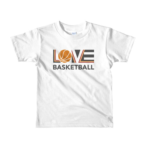 LOV=Basketball Kids Tee (2yrs-6yrs)