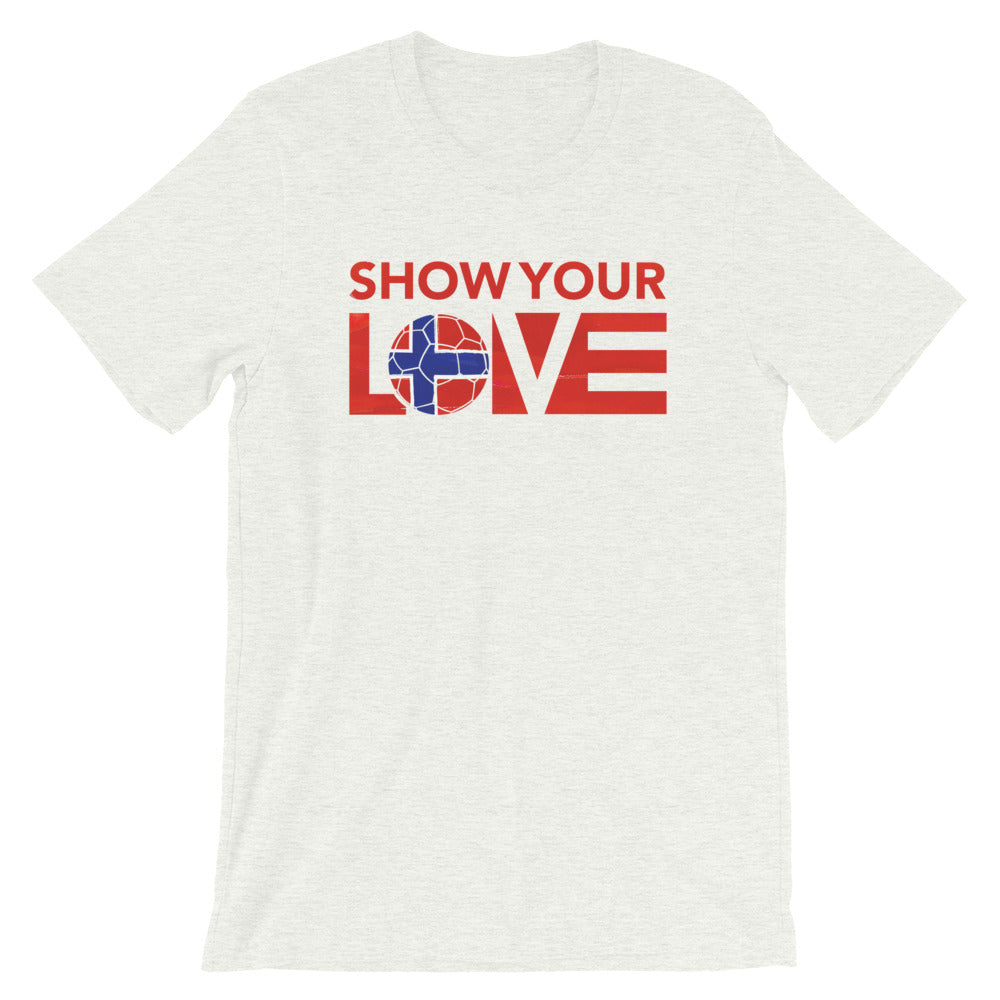Ash Show Your Love Norway Unisex Tee