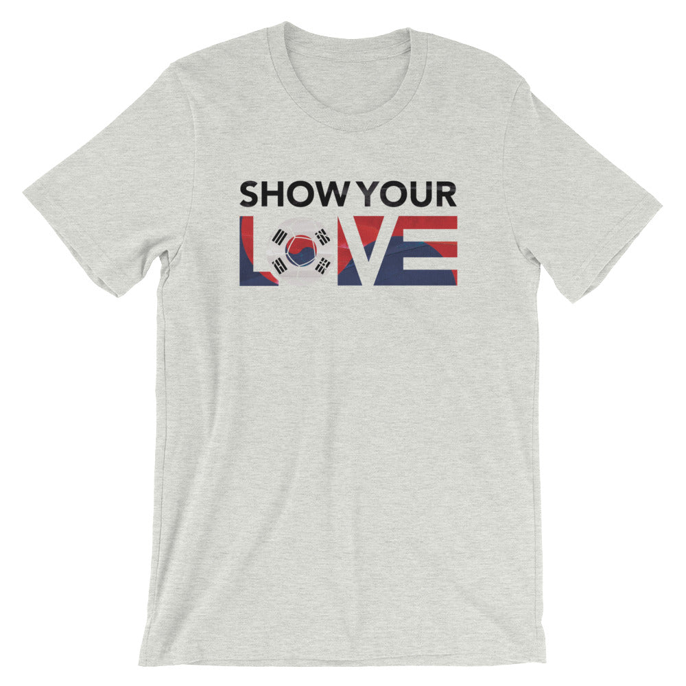 Ash Show Your Love Korea Unisex Tee