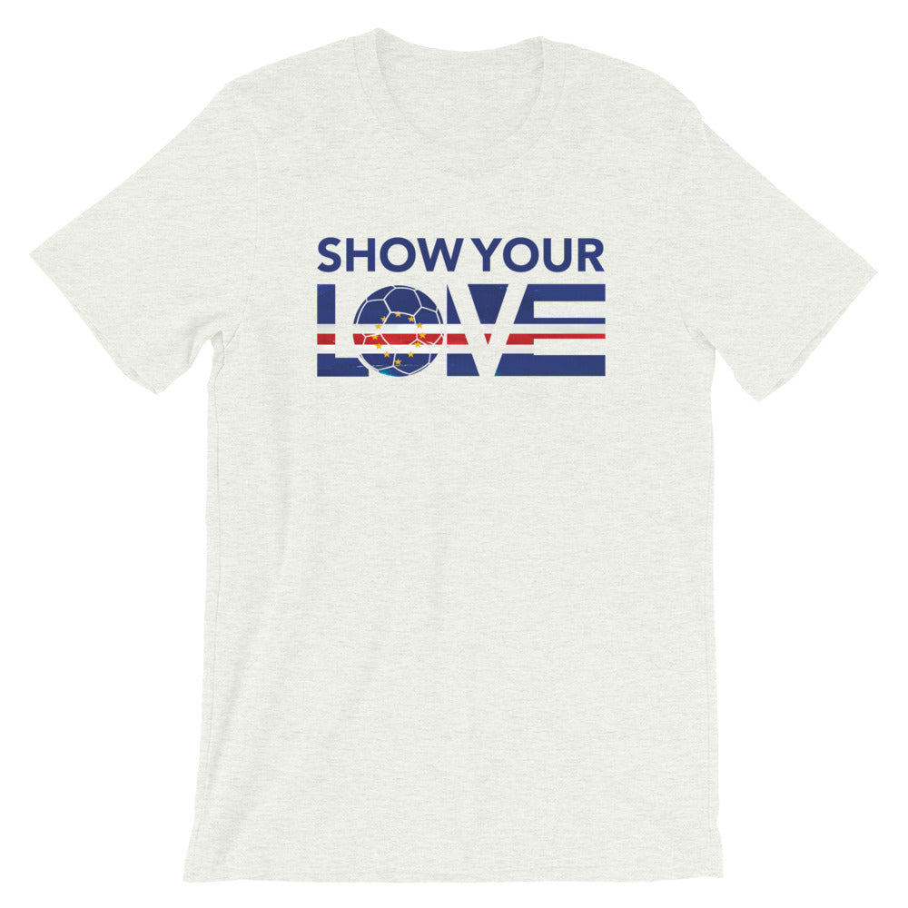 Show Your Love Cape Verde Unisex Tee