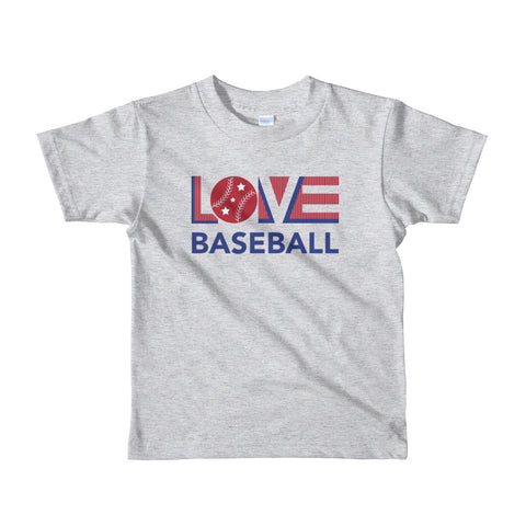 LOV=Baseball Kids Tee (2yrs-6yrs)