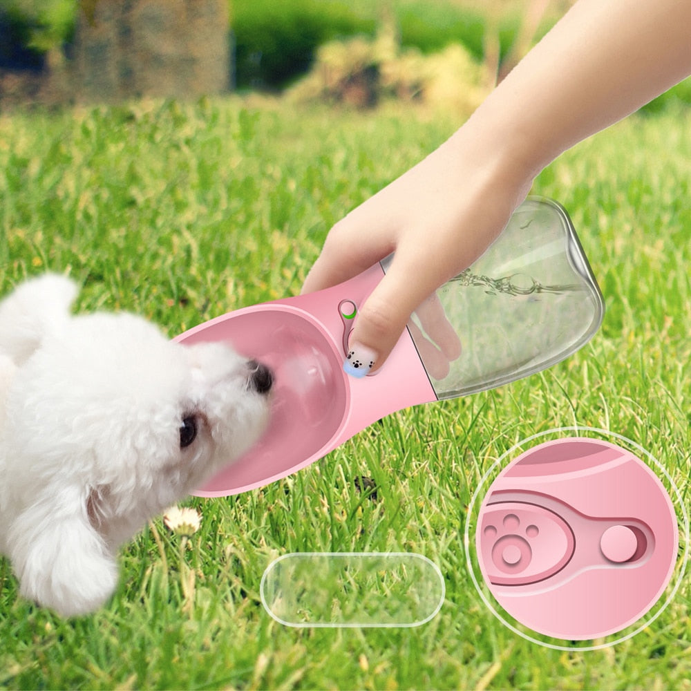 Pet Water Bottle, Portable Bottle for Small, Medium and Large for walking or traveling is up to you