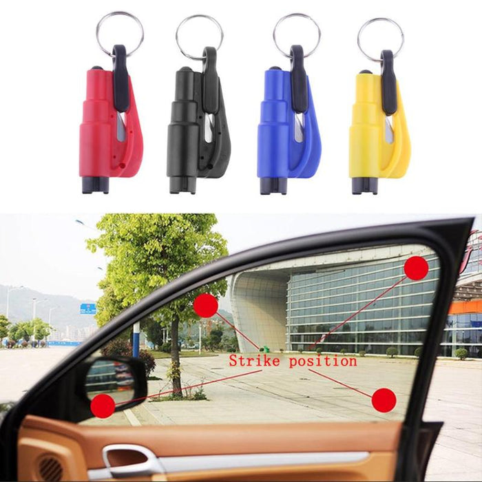 Seat Safety Hammer Auto Glass Car Window Breaker Life-Saving Escape Rescue Tool