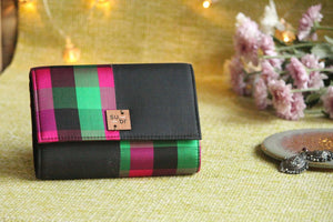 Midnight Queen  Colour Block Clutch