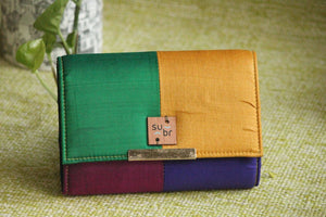 Arabian Nights Colour Block Clutch