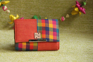 Urban Sunset  Colour Block Clutch