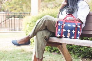 Retro Polka Chittoor Road Bag