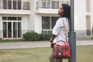 Tribal  Aztec Chittoor Road Bag