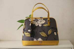 Grey Floral Parrys Carry-All