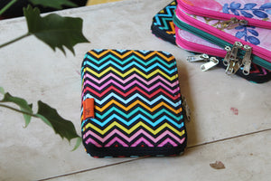 Multi Colour Chevron Bag of Tricks