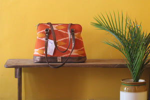 Orange Ikat  Parrys Carry-All