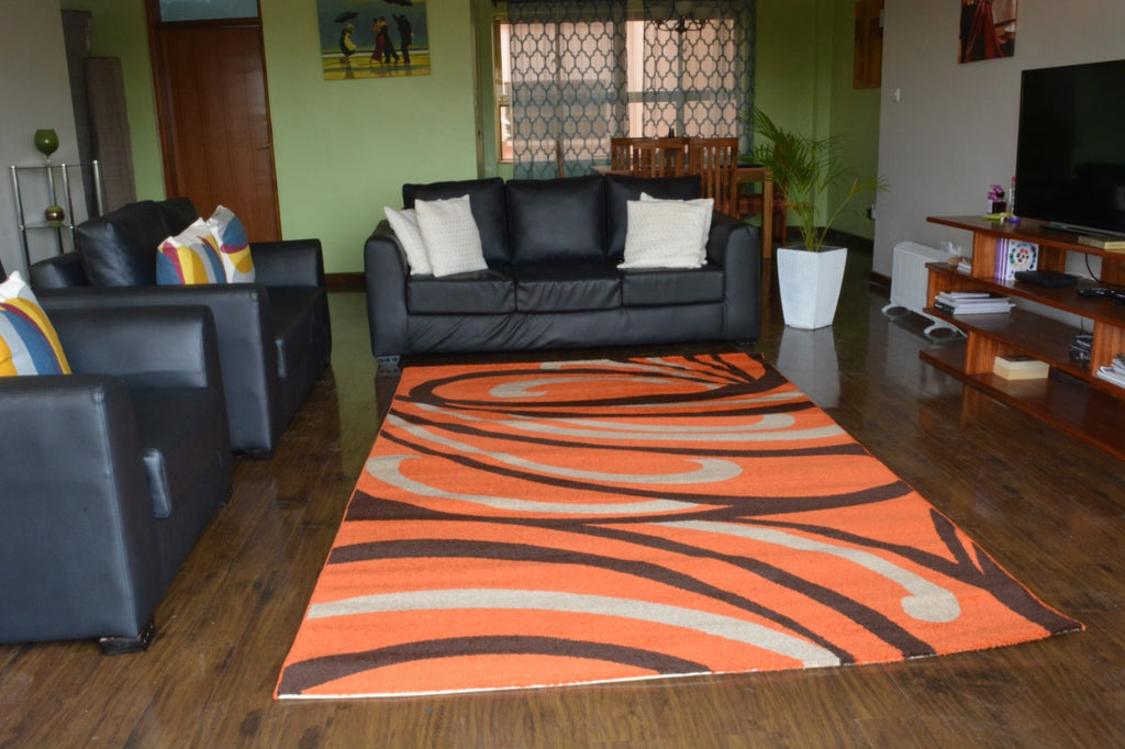 Orange Modern Turkish Carpet