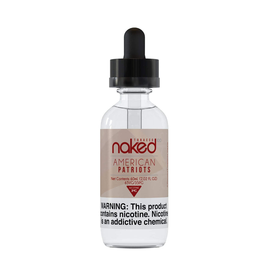 Naked 100 Tobacco E-Liquids 60 mL - BEST EJUICE PRICES