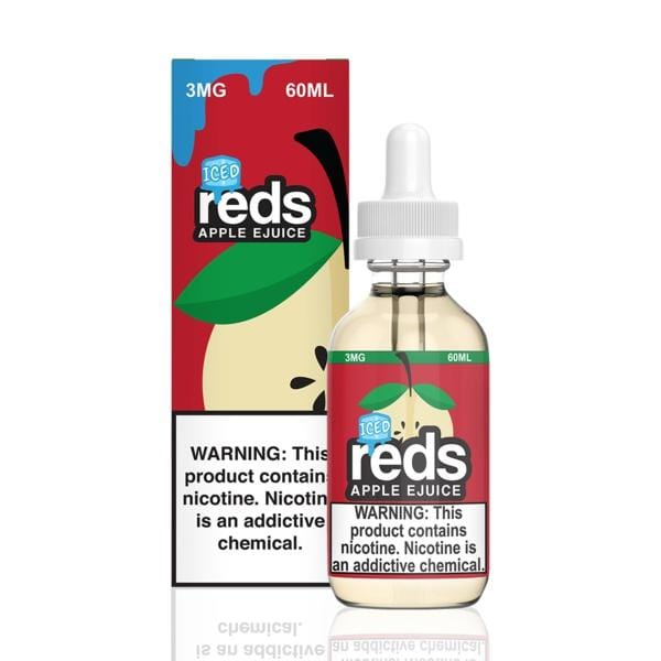 REDS E-JUICE - ICED APPLE - BEST EJUICE PRICES